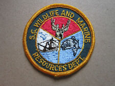 Wildlife And Marine Woven Cloth Patch Badge (L1K)
