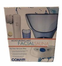 Conair Moisturizing Mist Facial Sauna System with Timer MDF3 Skincare NEW