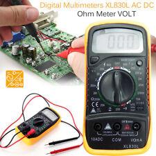 Pro Digital Multimeter Voltmeter Ammeter Ohmmeter Volt AC DC Tester Meter #UK