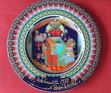 Weihnachten Bjorn Wiinblad Rosenthal 1972 Porcelain Plate Holy King Casper