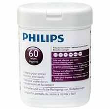 Philips SVC1118P Screen Cleaner Wipes 60ct