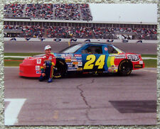 COLOR PHOTO ~ JEFF GORDON ~ #24 DUPONT ~ NASCAR