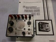 Motorola Rtx 4005b Portable Radio Test Set F42
