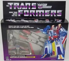 NEW Transformers Vintage G1 Walmart Reissue  Decepticon Air Commander Starscream