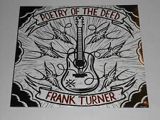 FRANK TURNER  Poetry Of The Deed  LP SEALED