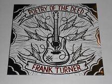 FRANK TURNER  Poetry Of The Deed  LP SEALED