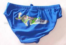 Disney Buzz Boys Blue Racer Brief Bathers Size 6 New