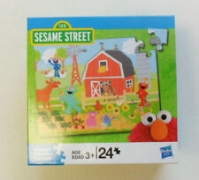 Sesame Street Puzzle  24 Pieces # 2, by Hasbro
