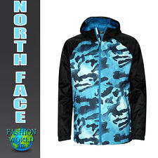 The North Face Men's Size XL Boreal Hooded Wind Breaker Jacket Blue Camo