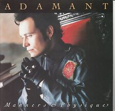 cd  ADAM ANT - MANNERS & PHYSIQUE
