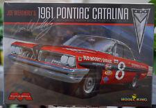 1961 Pontiac Catalina # 8 Joe Weatherly 1:25 MODEL King 1221 NUOVO 2017