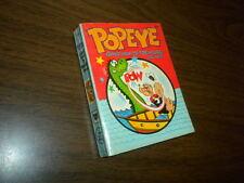 POPEYE - GHOST SHIP TO TREASURE ISLAND Big Little Book-Whitman soft cover 1970's