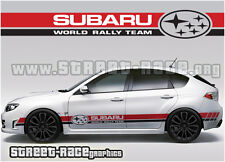 SUBARU Impreza 024 World Rally Team Racing Strisce Decalcomanie Adesivi Grafica