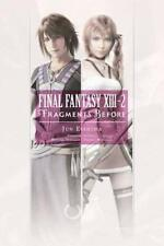 Final Fantasy XIII Fragments Before After Volumes 1-2 Novel English paperback