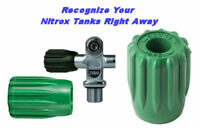 Nitrox Green Handwheel SCUBA Valve Knob Air Tank Cylinder Dive Recognize DIN K