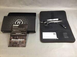 Hattori Hanzo HH-8 6.0 Shears W/ Original Carrying Case EUC