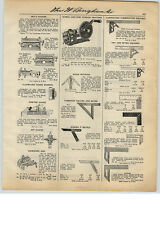 1931 PAPER AD Hardware Store Dowel and Rod Turning Machine Stanley Tool