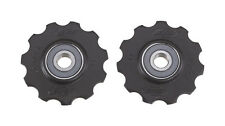 BBB RollerBoys Ceramic Jockey Wheels Gear Pulleys 11T Black - BDP-12