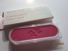 MARY KAY POWDER PERFECT Cheek Color NEW .2 oz Very Berry 6212