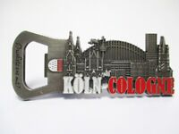 Köln Cologne Dom Metall Flaschenöffner Magnet Souvenir Germany (164.)
