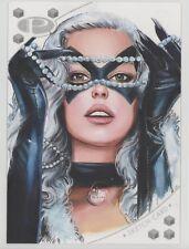 2017 Upper Deck Marvel Premier Fred Ian Black Cat 5x7 Sketch Card MASTERPIECE