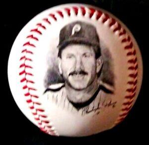 PHILADELPHIA PHILLIES BASEBALL LEGENDS OFFICIAL MLB FOTOBALL Mike Schmidt 1995