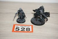 LOT 528 - Warhammer Lord of the Rings LOTR - Dark Marshall Foot & Mounted