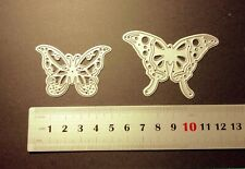 Butterflies (2) Metal Cutting Dies For Scrapbooking And Card Making