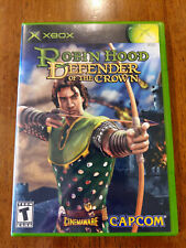Robin Hood: Defender of the Crown (Microsoft Xbox, 2003) VERY GOOD W/MANUAL