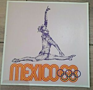 Mexico 1968 Olympic Games Poster #4