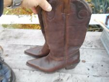 BOTTES BUFFALO TYPE SANTIAGS MARRON T 40 TBE A 36€ ACH IMM FP RED MOND RELAY !