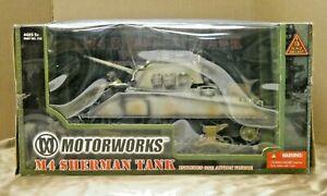 Vintage Motorworks M4 Sherman Tank w/ Action Figure 1/18 Winter Version #312 MIB