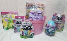 Hatchimals Filled Birthday Easter Gift Basket Nest  Cards Candy Peeps FUN!