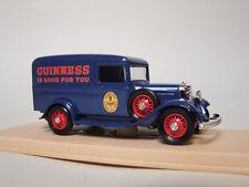 ELIGOR 1:43 AUTO DIE CAST FORD V8 CAMIONNETTE 1934 GUINNESS BLU ART 1076