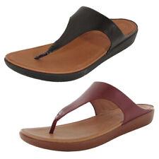 Fitflop Womens Banda II Toe Thong Leather Sandal Shoes