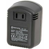 New UK -USA Mercury UK Step Down Voltage Converter 30V-110V, 45W Max