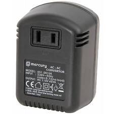 New UK -USA Mercury UK Step Down Voltage Converter 230V-110V, 45W Max