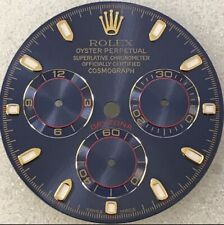 "BLUE RACING DAYTONA ""DIAL CUSTOM MADE TO FIT ANY ROLEX DAYTONA"