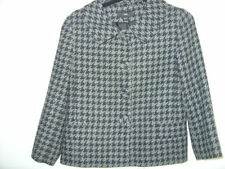 H&M Polyester Check Button Coats & Jackets for Women