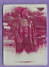 2020 TOPPS WWE UNDISPUTED R-TRUTH MAGENTA PRINT PLATE # 1/1
