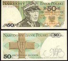 Polonia 50 zloty 1988 Pick 142c como nuevo UNC