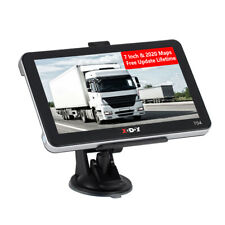 "XGODY 7"" SAT NAV TRUCK Lorry HGV LGV Car GPS NAVIGATION 3D FREE MAP FM 128MB-8GB"