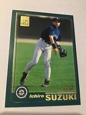 2001 Ichiro Suzuki Topps Baseball Rookie #726 MINT