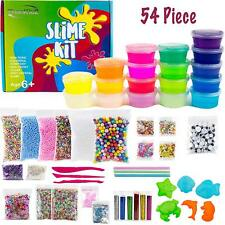 Slime Making Kit for Ages 6+: Fun Squishy Slime for Anti-stress and 54 Pack