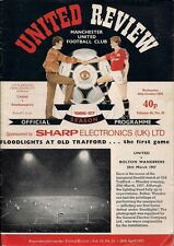 Manchester Utd [MUFC] Review v Southampton 29th October 1986 Volume 48, No 10