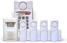 ALARMANLAGE KOMPLETT SET 6 tlg Alarmanlage  Alarmsystem  Fensteralarm Türalarm
