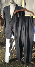 Vtg Drop Loop Pants 38R Men Suit 30Wx28L Rockabilly Plaid Curlee Euc 50/60s Euc