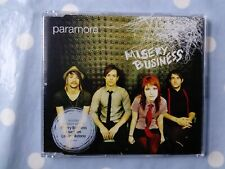 Paramore Misery Business /Live Video 2 Track CD