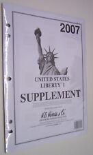 2007--HARRIS UNITED STATES LIBERTY I STAMP ALBUM SUPPLEMENT--NEW
