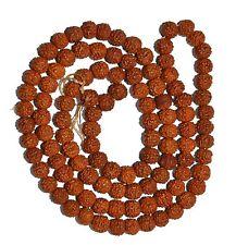 Rudraksha Mala 5 Mukhi With (108+1) Beads 6 mm Size Jap Mala